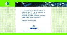 MATELEC 2012: SALÓ INTERNACIONAL DE MATERIAL ELÈCTRIC I ELECTRÒNIC –