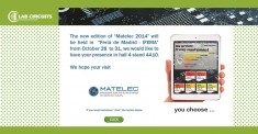 MATELEC 2014: INTERNATIONAL EXHIBITION OF SOLUTIONS FOR ELECTRICAL AND ELECTRONICS INDUSTRY
