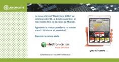 FIRA ELECTRONICA 2014 A MUNICH