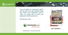 International Trade Fair ELECTRONICA 2014 Munich
