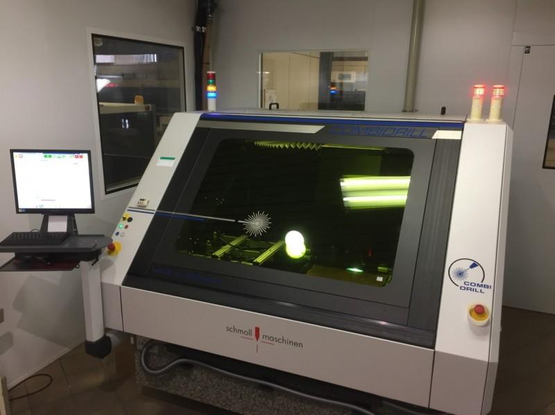 Lab Circuits adquireix un nou equip LÀSER, COMBIDRILL de Schmoll Maschinen Gmbh