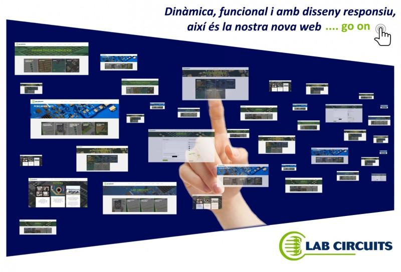 Dinàmica, funcional i amb disseny responsiu, així és la nostra nova web