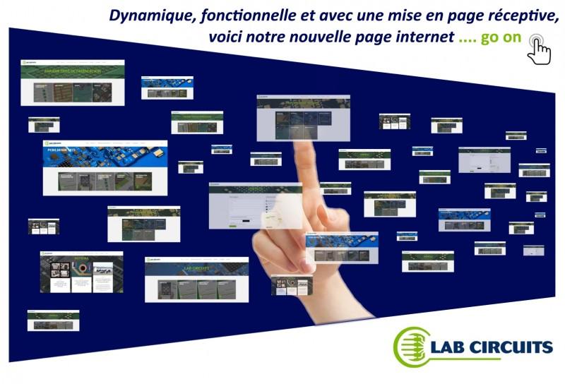 Dynamique, fonctionnelle et avec une mise en page réceptive, voici notre nouvelle page internet.
