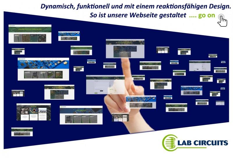 Dynamisch, funktionell und mit einem reaktionsfähigen Design. So ist unsere Webseite gestaltet.
