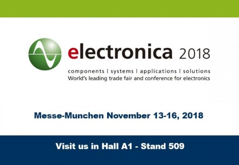 LAB CIRCUITS AT MUNICH ELECTRONICS FAIR 2018.