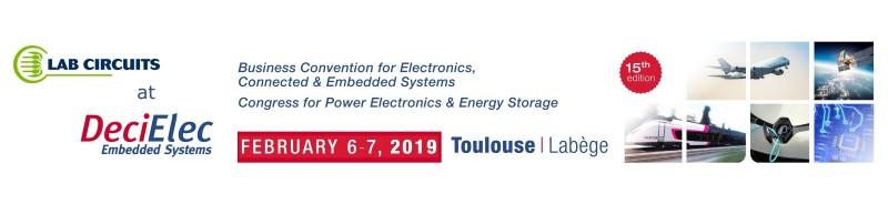 LAB CIRCUITS A LA 15ª edició del Congres DeciElec Embedded Systems 2019 a Toulouse
