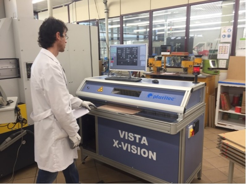 X-VISION  X-RAY QUALITY CONTROL MACHINE
