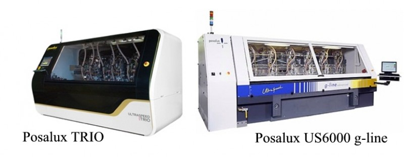 Lab Circuits acquires two new machining equipment. Posalux TRIO and Posalux US6000 g-line.