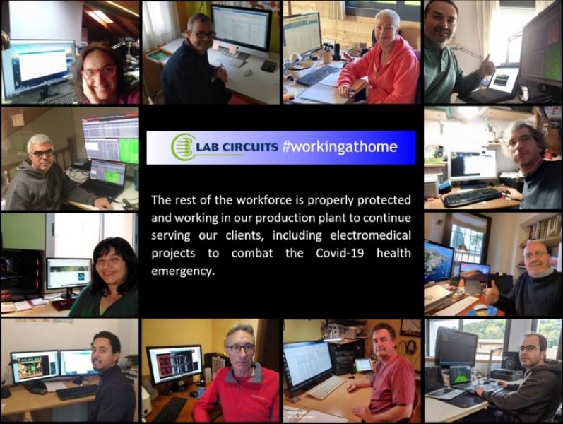 Lab Circuits #workingathome
